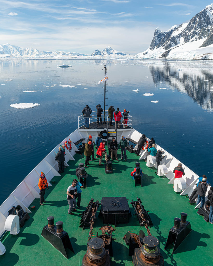 Cruising the Lemaire Channel