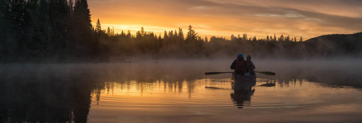 Sunrise on Craig Lake