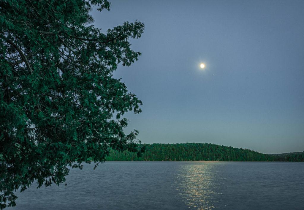 Late evening on Ralph Bice Lake