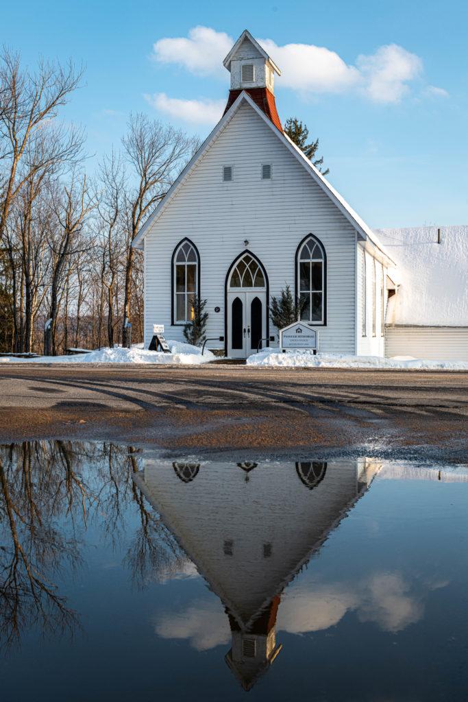 Pioneer Memorial United Church Hillside, Lake of Bays -  Ontario 1892