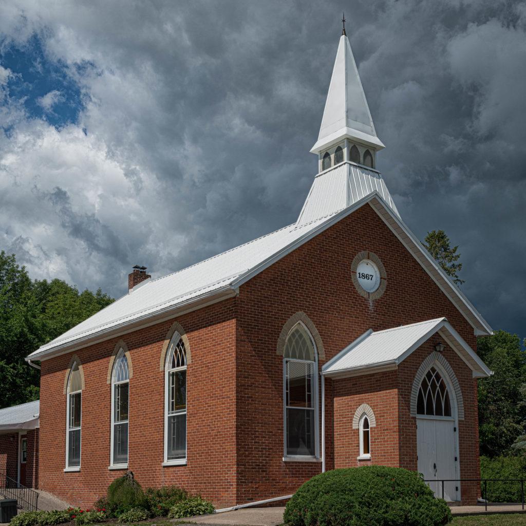 Wesley United Church  1867, Buckhorn